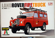 1971 Land Rover Ser. III Fire Truck 1:24 Italeri 3660