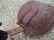Farmall Ih H M Tractor Seat Pan With Extremely Rare 2 Bolt Seat Flip Over Bracket