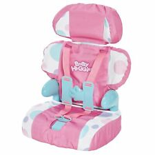 BABY HUGGLES CAR BOOSTER SEAT FOR DOLLS KIDS GIRLS