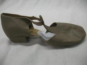 So Danca MD-03 Dancewear Suede Leather Sole Grecian Sandal Tan Big Kids - Adult