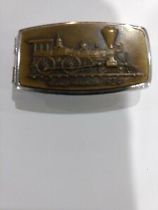 Vintage Anson Brass/Stainless Young America 1834 Money Clip