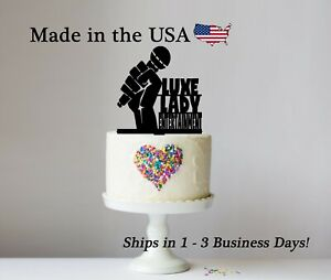Singer Cake Topper, Microphone, Music, Entertainment, Personalized Topper,LT1350