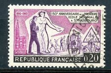 TIMBRE FRANCE OBLITERE N° 1254 ECOLE NORMALE STRASBOURG