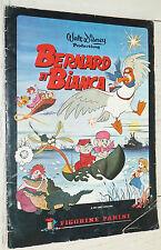 ALBUM PANINI POUR RECUP. BERNARD ET BIANCA 1977 DISNEY INCOMPLET 250 IMAGES