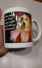 Dog in devil costume coffee mug How much can I get away with and still go to hea