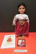 """American Girl Doll Meet Josefina 18"""" Doll With Book Pleasant Co Retired"""