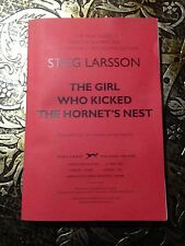 The Girl Who Kicked the Hornet's Nest, Stieg Larsson, Uncorrected Proof (ARC)