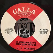 JJ Jackson | Northern Soul 45 | Love Goes Out Style / Seems Like I've Been Here