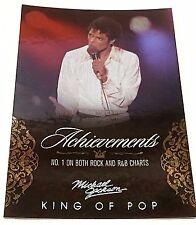 MICHAEL JACKSON 2011 Panini PLATINUM Parallel SP #131 King Of Pop #1 Charts RARE