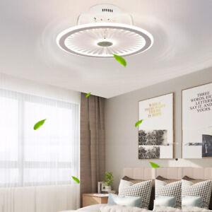 Ceiling Fan Light Modern LED light fan ultrathin Control remote home Chandelier
