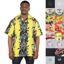 Men's Short Sleeve Button Down Hawaiian Casual Shirts & Tops