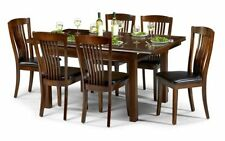 Wooden Dining Tables Sets with Extending and 7 Pieces
