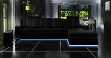 Eck Ecksofa Sofa Couch Polster Wohnlandschaft Leder Sofas Garnitur L Form FRANCO