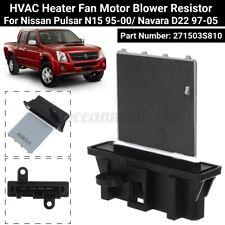 Heater Blower Fan résistance Fits Nissan Pickup 2.5 D