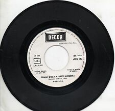 DOMINGA TOM JONES disco 45 MADE in ITALY Dimmi cosa aspetti ancora PROMO JUKEBOX