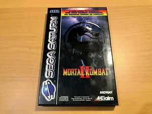 MORTAL KOMBAT II (2) // Sega Saturn // 1993 // vermutl. PAL // USK18