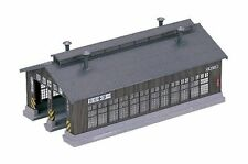 KATO N Scale 1/150 : 23-225 STRUCTURES Wood 2-Stall Engine House Kit