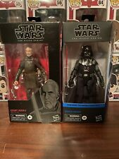 Star Wars Black Series Darth Vader Count Dooku Sith Lot
