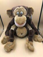 Madagascar Monkey Mason Russ Plush Kids Soft Stuffed Toy Doll Dreamworks 2005