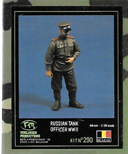 Verlinden Russian Tank Officer Figure 1/35 Scale VP0290