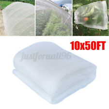 50Ft Mosquito Garden Bug Insect Against Netting Barrier Bird Hunting Net Protect