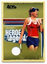 """ANNA KOURNIKOVA """"MATCH JERSEY CARD /100"""" ACE HEROES/LEGENDS"""