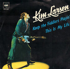 "KIM LARSEN ‎– Keep The Fiddlers Playin' (1977 VINYL SINGLE 7"" HOLLAND)"