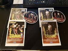 TEATRO COMMEDIA GARINEI e GIOVANNINI DVD BRAVO ! (Enrico Montesano) Dvd 1 e 2