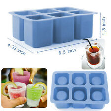 Silicone Ice Cube Tray Shot Glass Freeze Mold Maker Shooters Tray Party Supplies
