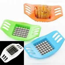 New Potatoes Cutter Cut into Strip French Fries Tool Kitchen Gadget 3 Colors YN