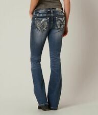 NWT New Womens Miss Me Mid Rise Bootcut Jeans Size 26 27 28 29 30 31 32 33 34 36