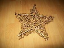 Weihnachtliche Kugel-Traube m.12 Kugeln versch.Größen in gold od silber,27cm