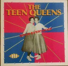 The Teen Queens Rock Everybody LP~Eddie My Love~Girl Vocal Group~ACE UK NM