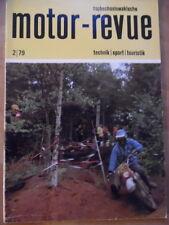 Tschechoslowakische MOTOR REVUE  2 - 1979 Skoda Tatra 613 RAC-Rallye Six-days