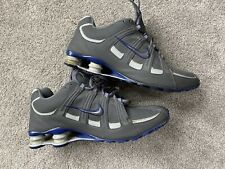 Nike Mens Shox Turbo SL 525248-014 Gray Running Shoes Lace Up Low Top Size 12