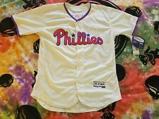 NWT Majestic Philadelphia Phillies Kingery Jersey Mens Sz 44