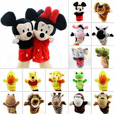 Animal Wildlife Hand Glove Puppet Soft Plush Puppets Kid Baby Toy Funny Gift UK
