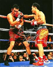 "Manny ""PACMAN"" Pacquiao Boxing Signed 8x10 Photo PSA/DNA COA #1"