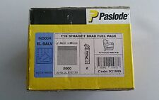 PASLODE F16 STRAIGHT BRAD FUEL PACK 1.6mm x 38mm (2000) 921589