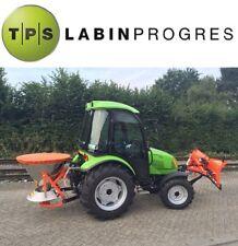 Allradtraktor 40 PS Winterdienstausrüstung Kabine Schneeschild Streuer TPS Tuber