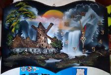 Bellissimo Orologio da parete tridimensionale con effetto in 3D decorativo