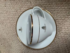 GOLDEN JUBILEE CUP AND SAUCER - 2002 - COLLECTABLE