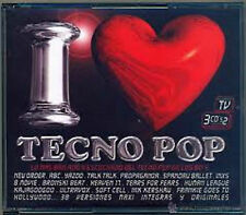 I LOVE TECHNO POP VOL.1  3 CD