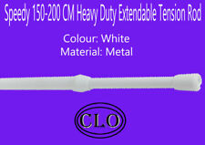 Speedy 150-200CM Heavy Duty Extendable Tension Rod For Light-Medium Net Curtains