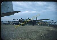 Air Force Museum 1950s 35mm Slide Original Red Kodachrome Dayton F-94A Starfire