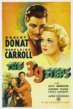 Alfred Hitchcocks --The 39 Steps (1935) -16mm Feature Film-Robert Donat
