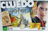 Cluedo Harry Potter Edition Board Game Parker Dated 2008 Moving Hogwarts Board