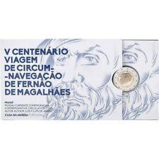 PORTUGAL 2019 2 EURO COMMEMORATIVE FERNAO DE MAGALHAES BE Proof