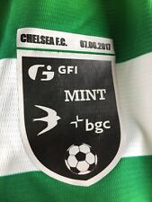 Celtic Football Shirt Nb Home Kit Size L. v Chelsea Pre Season Friendly 2017 7/6
