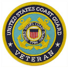 Vanguard VETERAN PATCH: US COAST GUARD